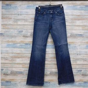 7 For All Mankind Jeans 25 x 32  Boot cut Stretch